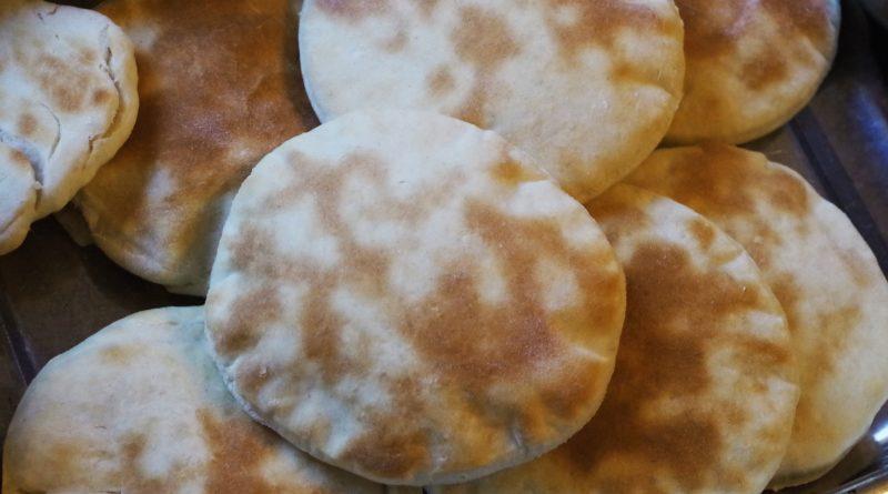Chlebki pita - przepis podstawowy