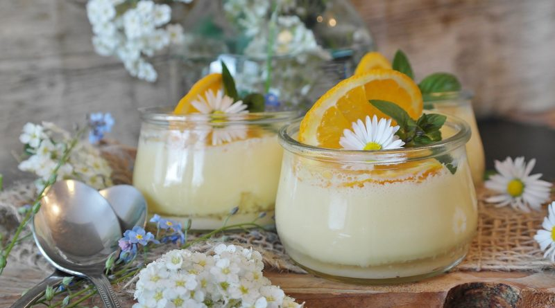 Budyń jaglany z pomarańczową nutą - przepis