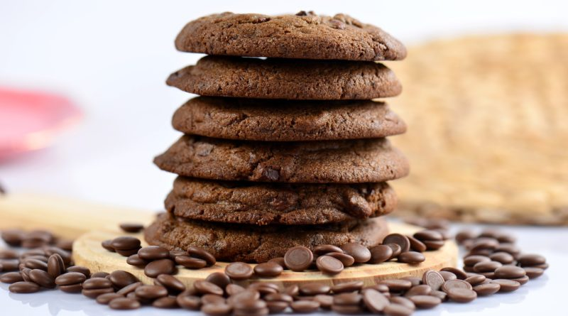 Ciastka czekoladowe z cytrynową nutą - przepis